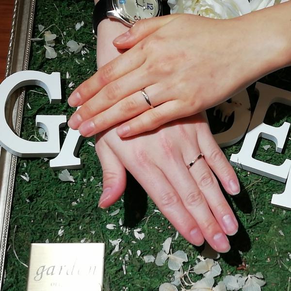 大阪市阿倍野区 結婚指輪