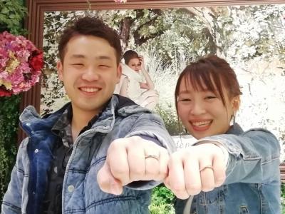 Mariageマリアージュの結婚指輪のご成約(奈良県桜井市)