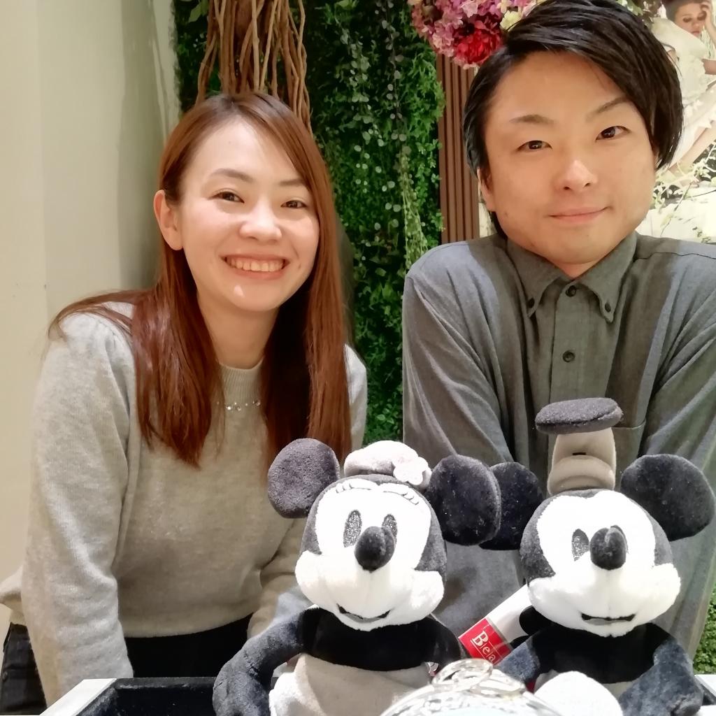 ディズニーファンタジアミッキー結婚指輪大阪6