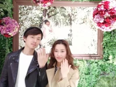 ORECCHIOオレッキオの婚約指輪、結婚指輪をご成約(大阪府堺市)