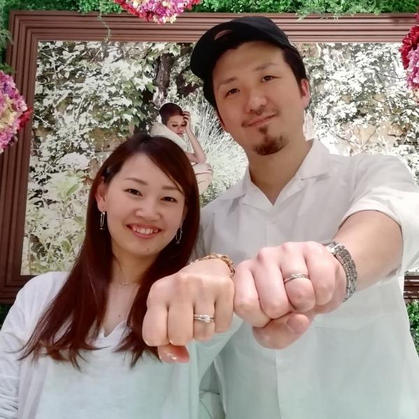 Mariageマリアージュの結婚指輪のご成約(奈良県橿原市)