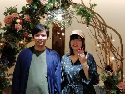 gardenオリジナル婚約指輪のご成約(和歌山市)