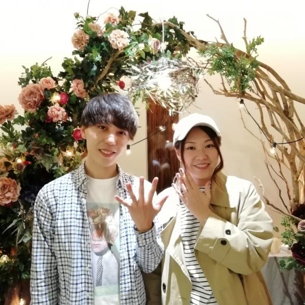 RosettEロゼットの結婚指輪のご成約(大阪市住吉区)