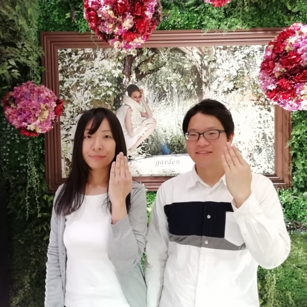 LapageラパージュDisneyCinderellaディズニーシンデレラの結婚指輪のご成約(大阪市堺市 貝塚市)
