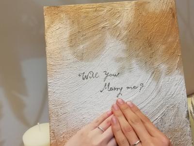 彩乃端いろのはの結婚指輪のご成約(島根県大田市)