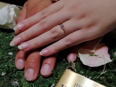 gardenオリジナルの婚約指輪ご成約(大阪府和泉市 大阪府堺市西区)