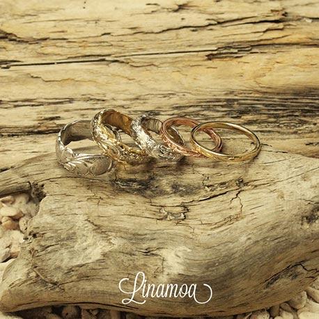 ハワイアン結婚指輪大阪2