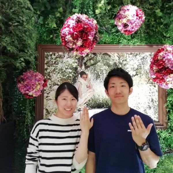 garden心斎橋 結婚指輪