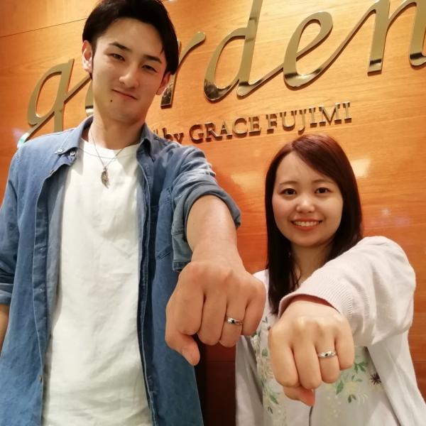 大阪市 結婚指輪
