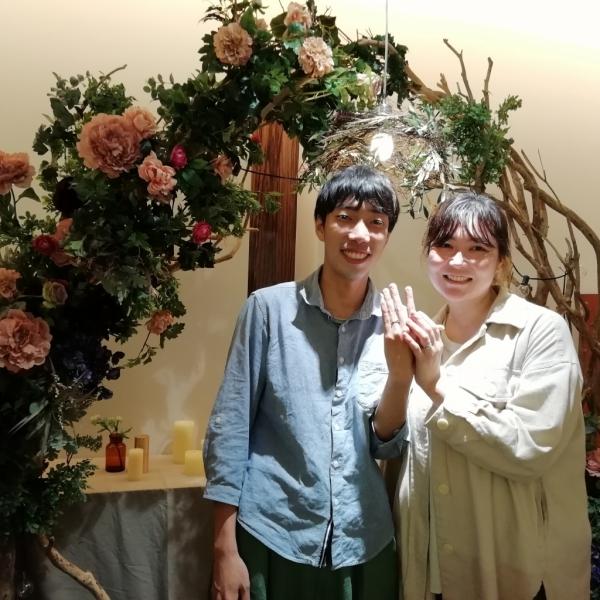 心斎橋 美女と野獣 結婚指輪 婚約指輪 大阪