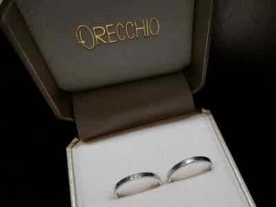 オレッキオORECCHIOの結婚指輪をご成約の方(大阪府高槻市 貝塚市)