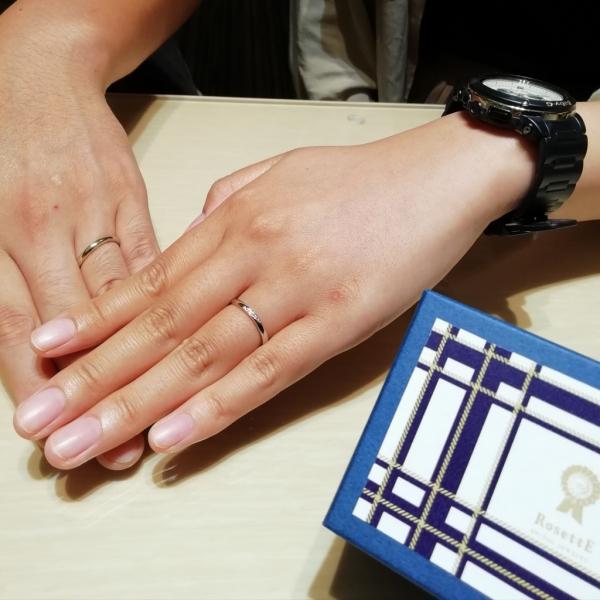大阪 心斎橋 なんば 結婚指輪 ロゼット