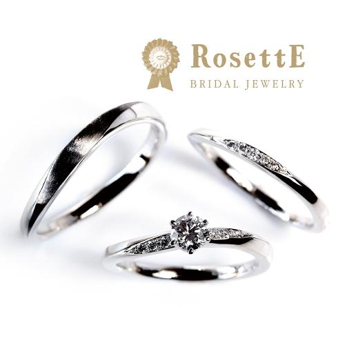 ロゼット月明かりの婚約指輪、婚約指輪はgarden心斎橋