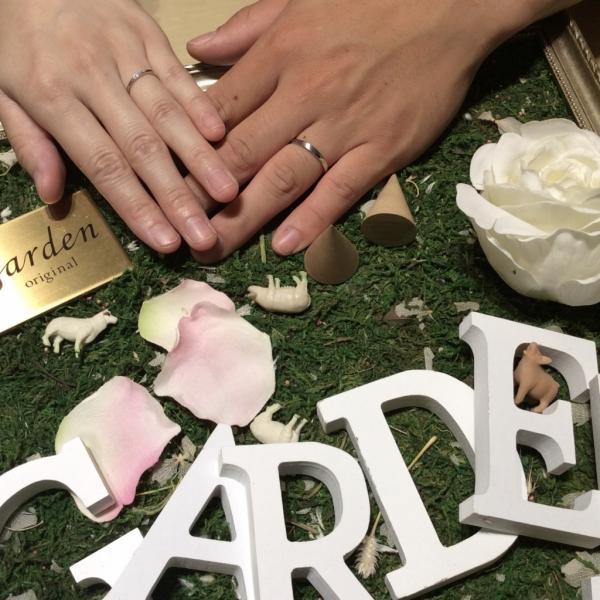 ロゼットRosettEの結婚指輪をご成約頂いた方(大阪市東住吉区 住吉区)