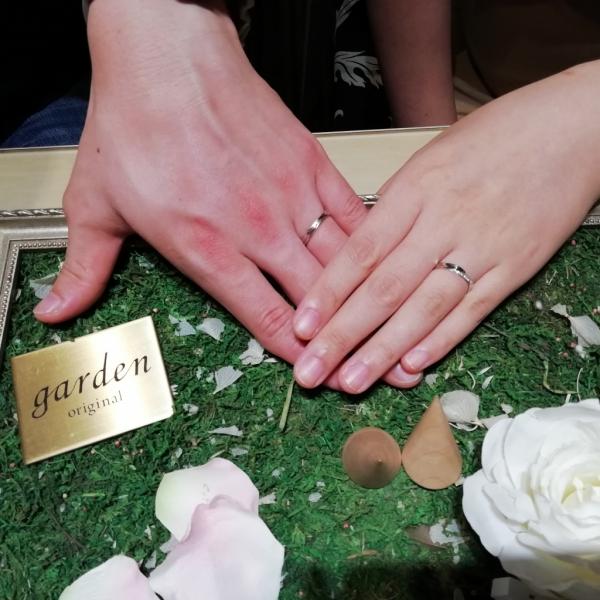 マリアージュエントMariageEntの結婚指輪ご成約の方(大阪府門真市)