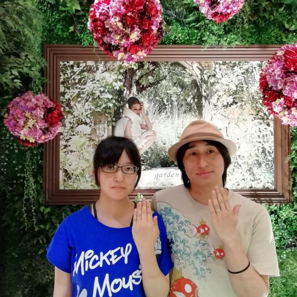 マリアージュMariageの結婚指輪のご成約の方(兵庫県尼崎市 大阪府貝塚市)