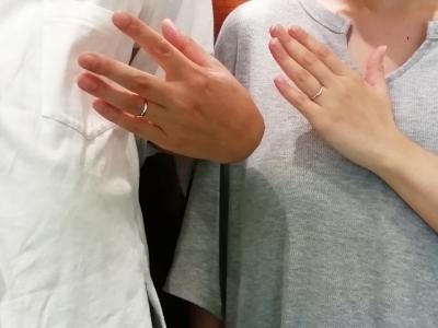 ディスニーシンデレラの結婚指輪をご成約頂きました(大阪府茨木市)