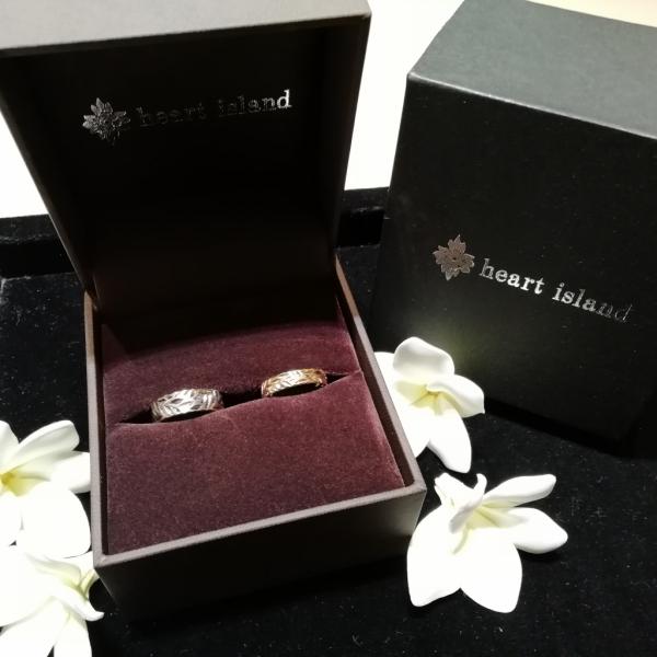 ハートアイランドの結婚指輪をご成約頂きました(兵庫県神戸市北区)