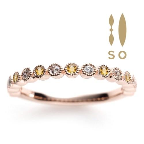 SOの結婚指輪婚約指輪の正規取り扱い店ガーデン心斎橋2