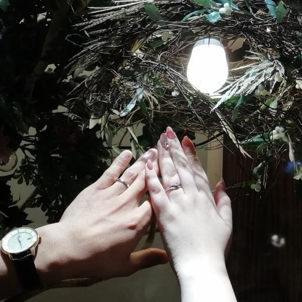 クアントマリアージュの婚約指輪結婚指輪をご成約頂きました(大阪府東大阪市 大阪府大東市)