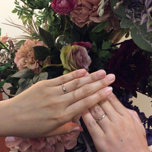 パッサージュPassageの結婚指輪をご成約頂きました(奈良県生駒郡 大和高田市)