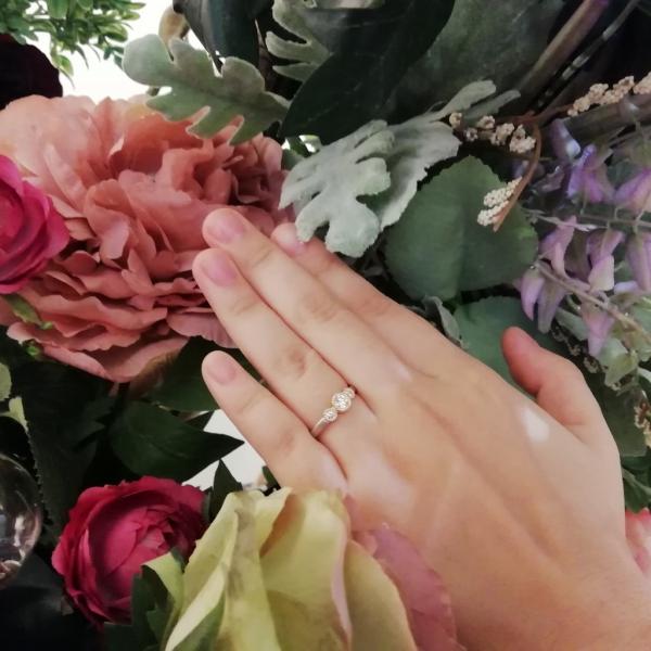 ロゼットRosettEの婚約指輪をご成約の方(大阪市住之江区)