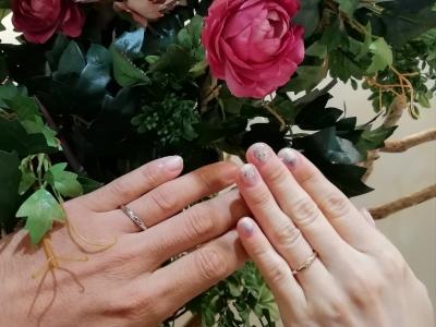 ロゼットRosettEの結婚指輪のご成約の方(奈良県天理市 愛知県岩倉市)