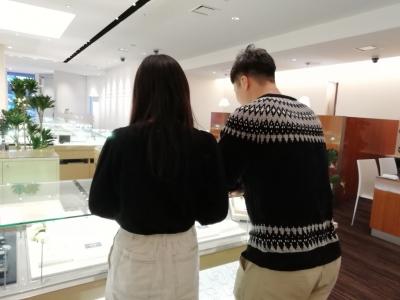 大阪市 LAPAGEの婚約指輪