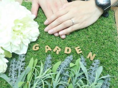 gardenオリジナルの婚約指輪 兵庫県西宮市