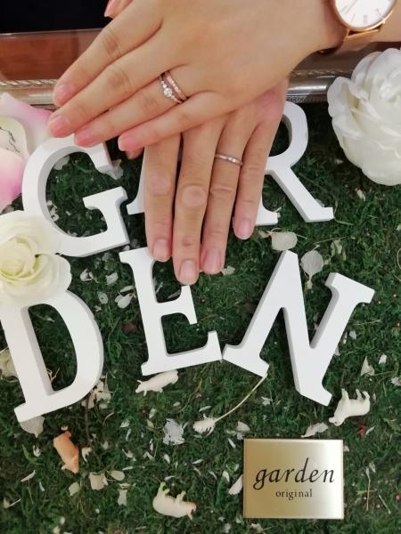 泉佐野市 オリジナルの婚約指輪とFISCHERの結婚指輪ご成約のお客様