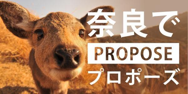 奈良のおすすめプロポーズスポットのバナー