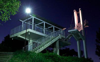 奈良のおすすめプロポーズスポットで鐘の鳴る展望台