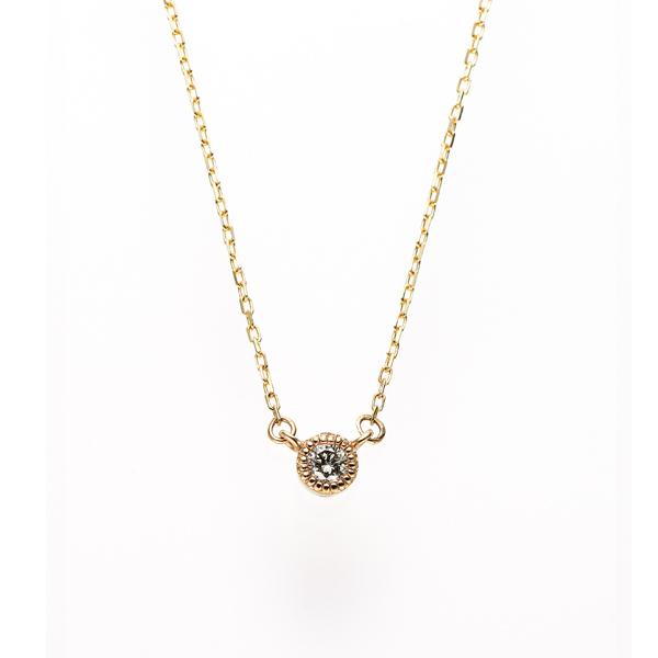 RosettEファッション4月ダイヤネックレス