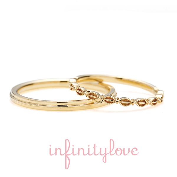 infinityloveの結婚指輪でverduer
