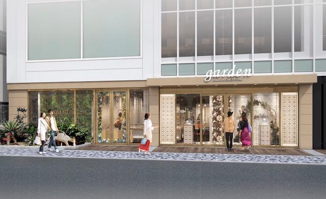 garden心斎橋OPAきれい館
