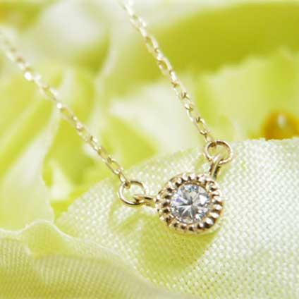 ダイヤネックレス 婚約指輪