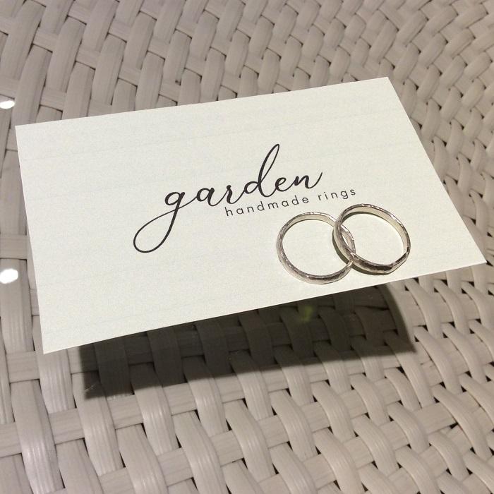 手作り結婚指輪プラチナ