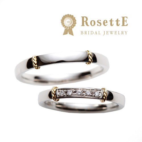RosettEのおしゃれな結婚指輪
