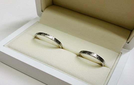 手作り結婚指輪 Pt900(プラチナ)
