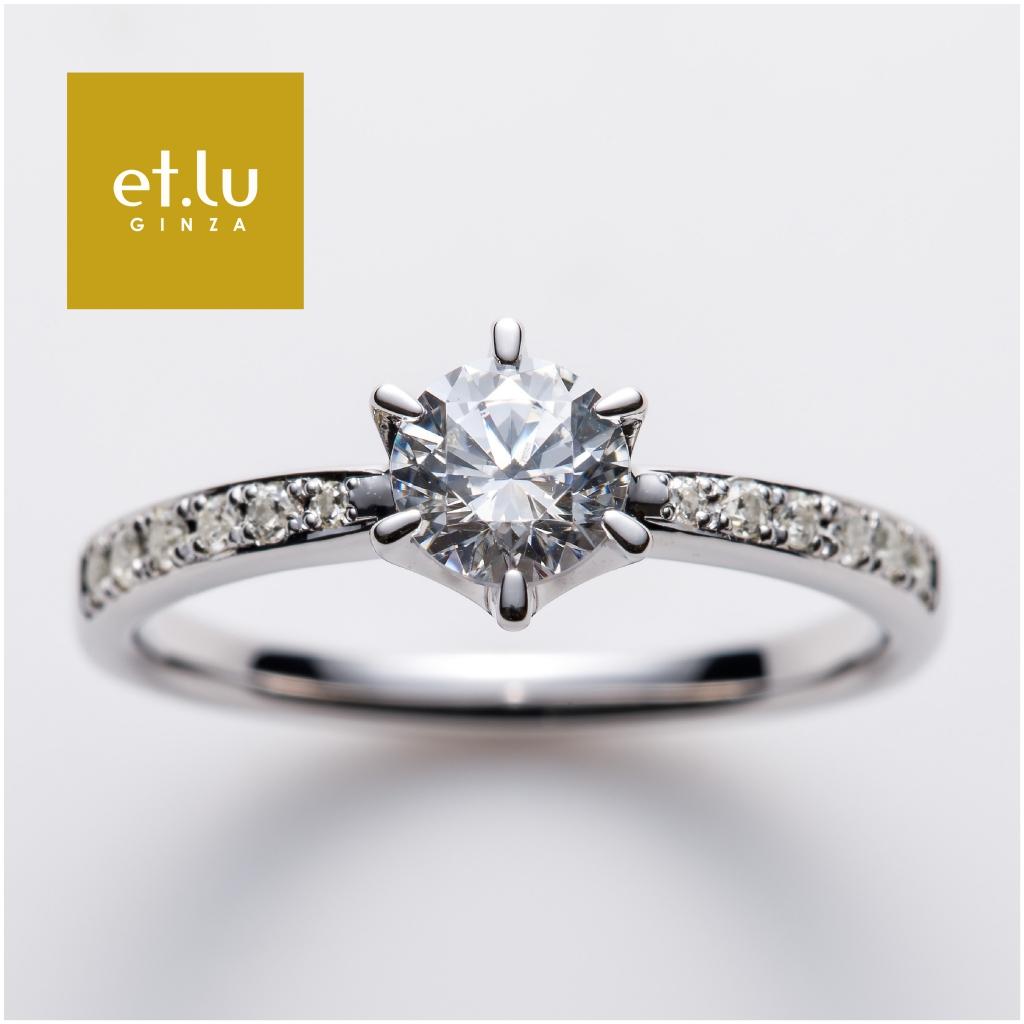 婚約指輪 高品質 ダイヤモンド 心斎橋