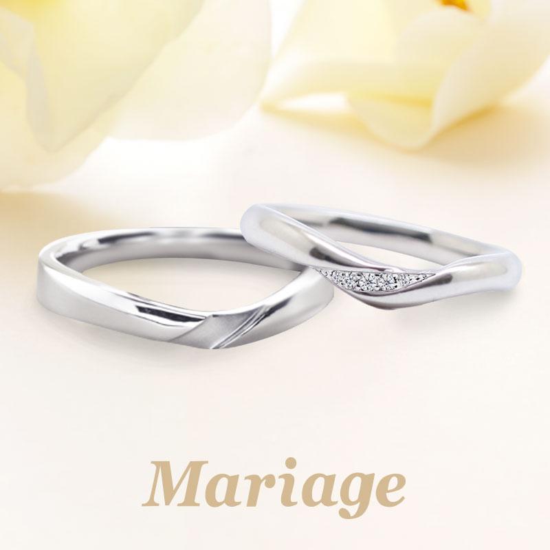 Mariage entサミュゼ結婚指輪