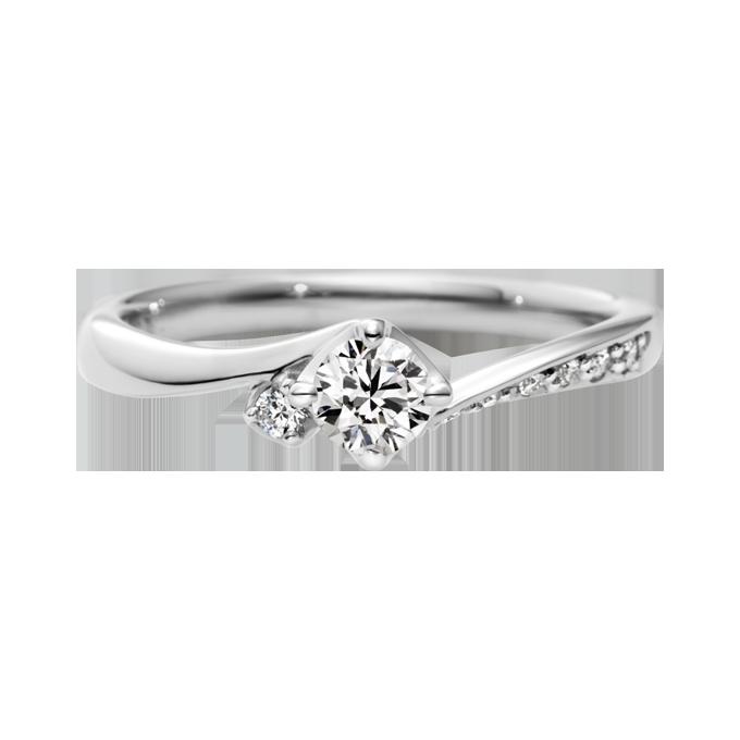 ドゥブリーズ婚約指輪