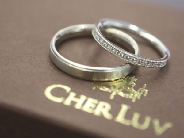 【大阪】CHER LUVの結婚指輪