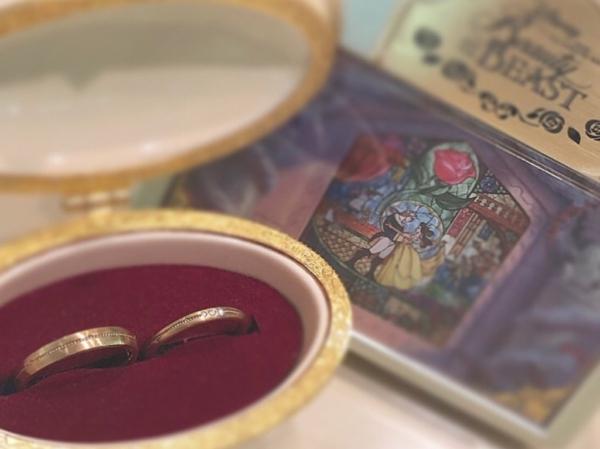 【和歌山】美女と野獣の結婚指輪