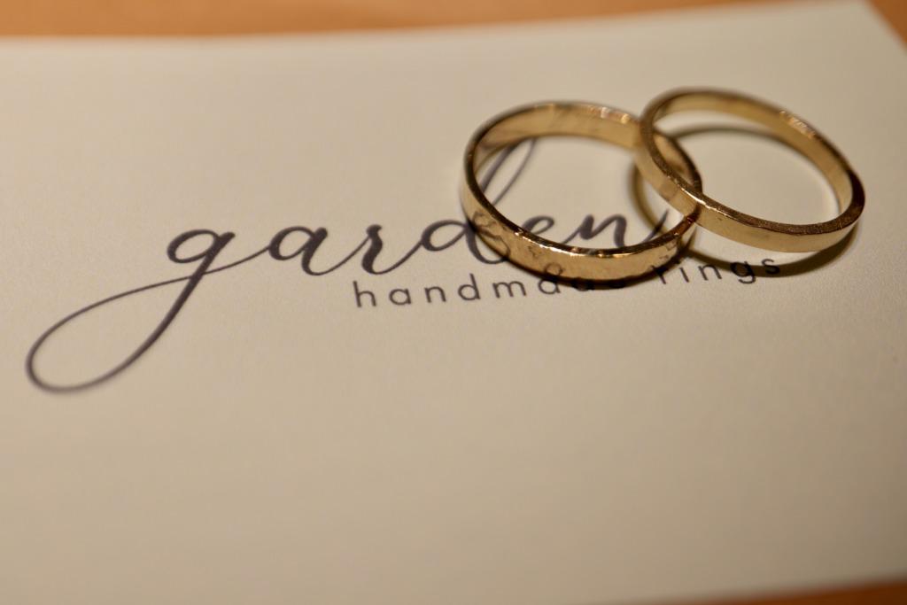 手作り結婚指輪のgarden心斎橋