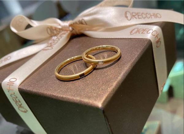 【大阪】ORECCHIOの結婚指輪