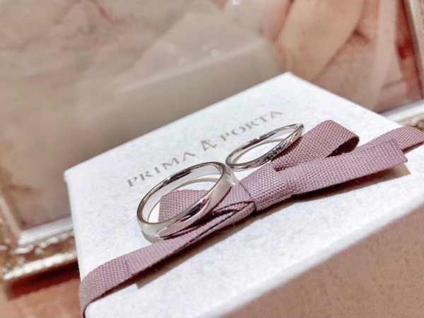 【大阪】PRIMA PORTAの結婚指輪