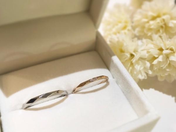 【和歌山】Amour Amuletの結婚指輪