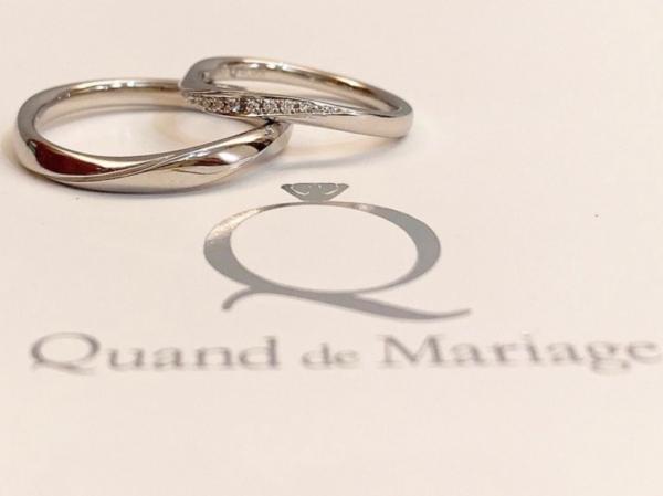 【和歌山】Quand de Mariageの結婚指輪