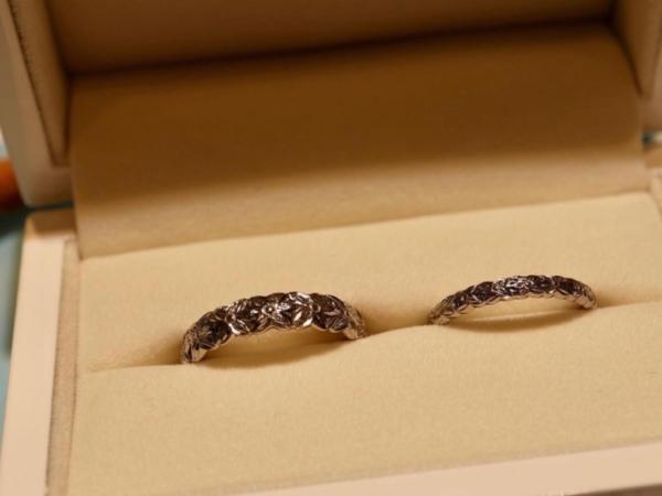 【大阪】Private beachの結婚指輪